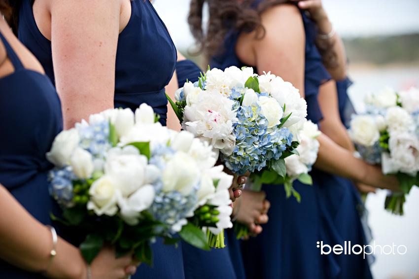 bridemaids flowers, cape cod photographers, bello photography