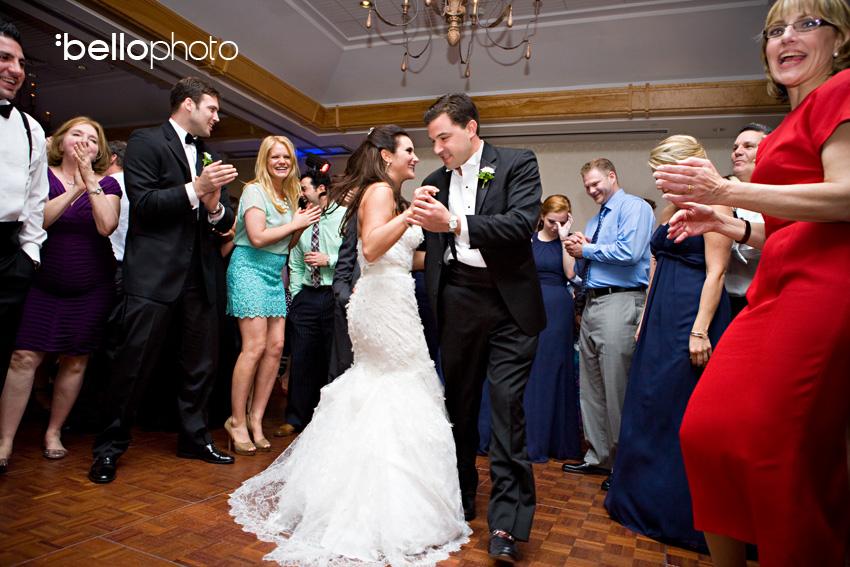 wequassett weddings, dancing bride & groom, cape cod photographers, bello photography