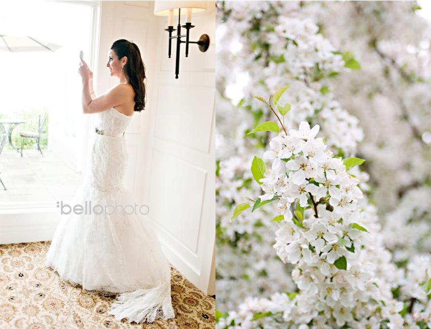 bride in mirror, cape cod photographers, bello photography