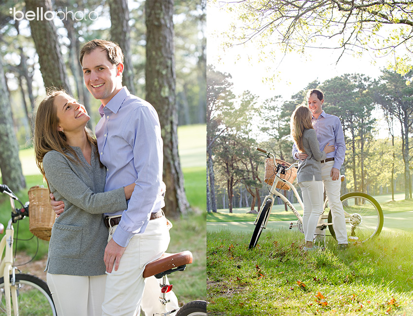 Cape Cod wedding blog photo from Bello Photography Buzz about Brooke & Will's Osterville Engagement Session ~ Cape Cod Wedding Photographers