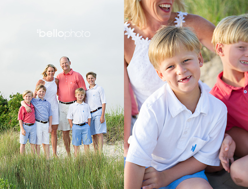 Cape Cod wedding blog photo from Bello Photography Buzz about Laura, Quinn, Patrick, Daniel, Thomas & Liam Osterville Family Session ~ Cape Cod Photographers