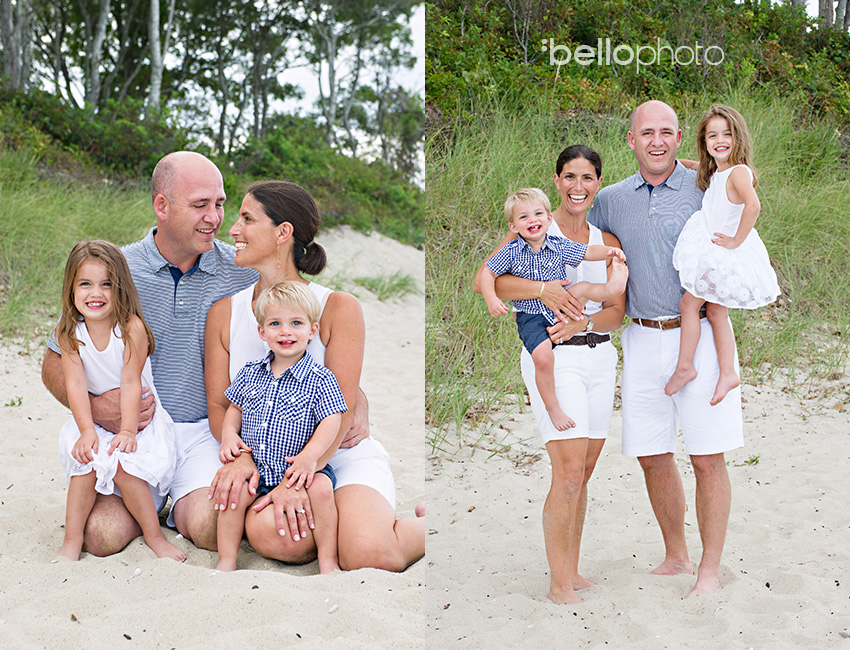 Cape Cod wedding blog photo from Bello Photography Buzz about Aimee, Rick, Tess & Brooks Family Session ~ Mashpee Beach Photographers