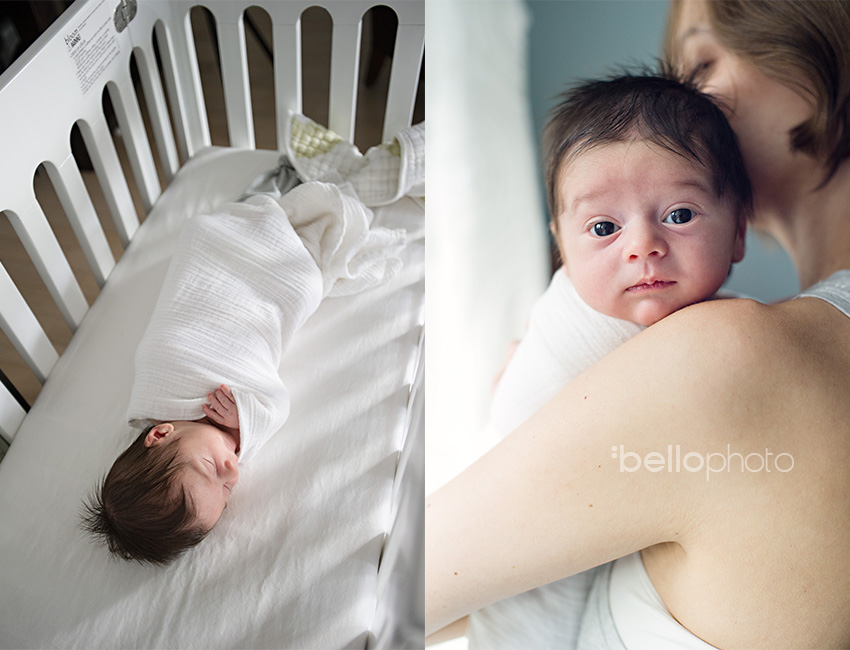 new york city newborn photographer, lifestyle photography, sleeping baby