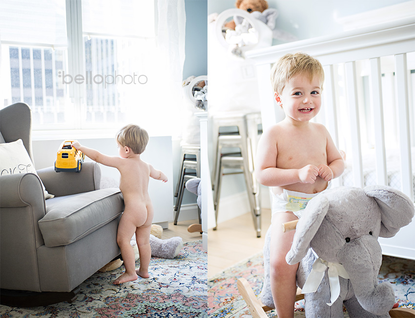 lifestyle photographer, boy playing in his room