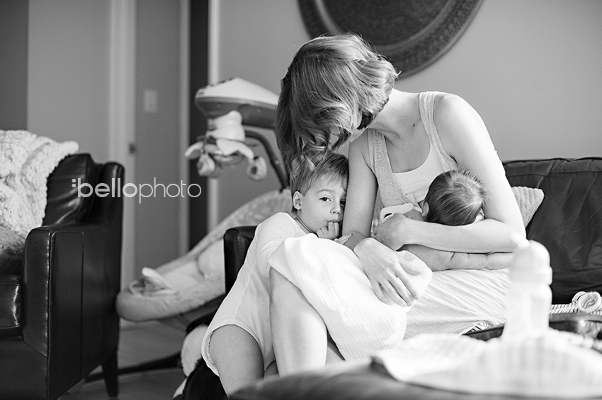 nursing baby, clingy toddler, lifestyle photographer