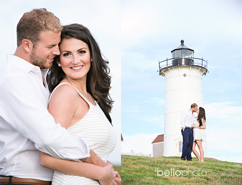 knobs lighthouse engagement session