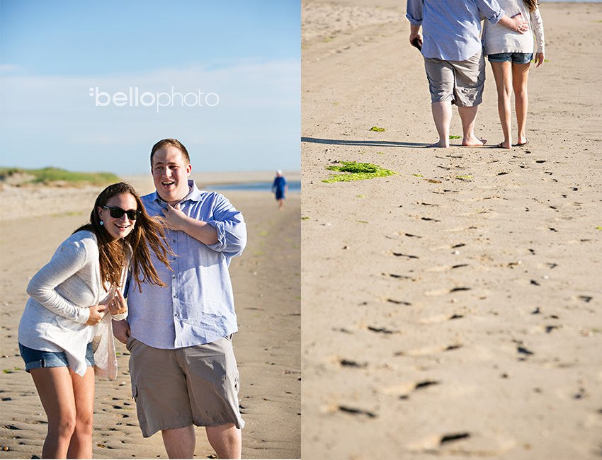 beach engagement wedding proposal
