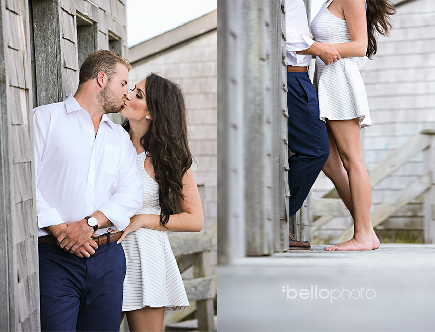 falmouth engagement session