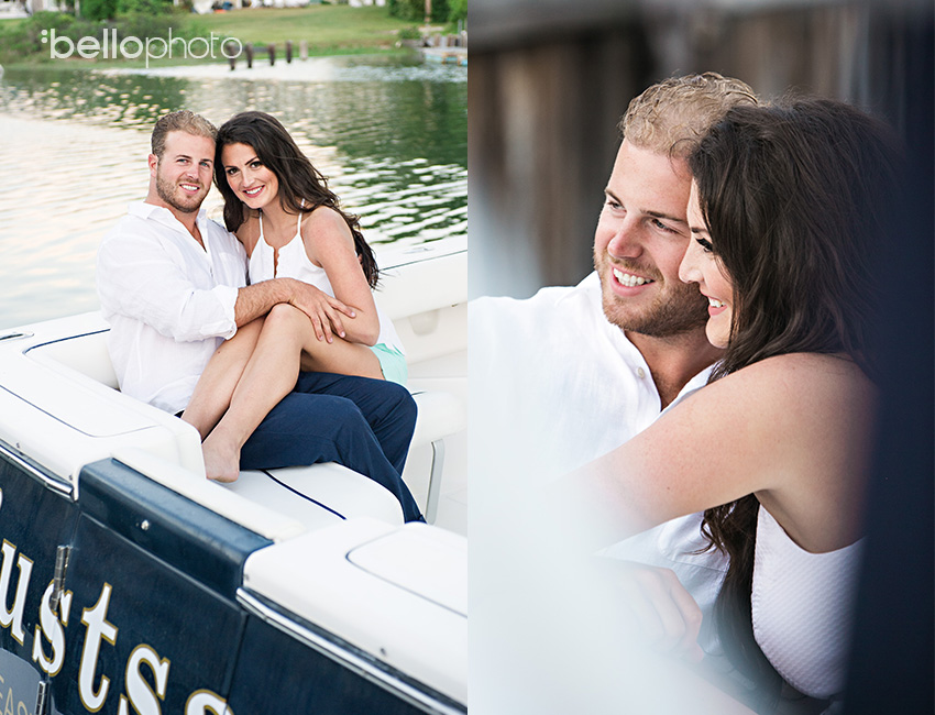 couple on boat, cape cod photographers