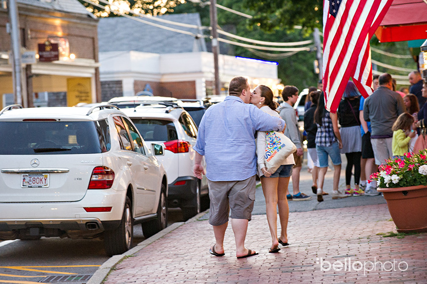 main street chatham engagement