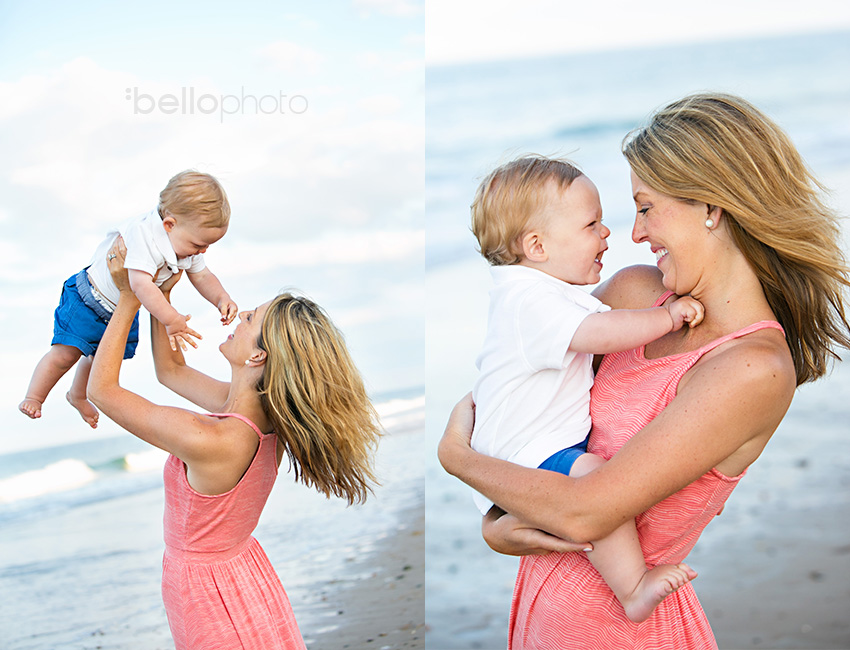 08 mom with baby boy at beach