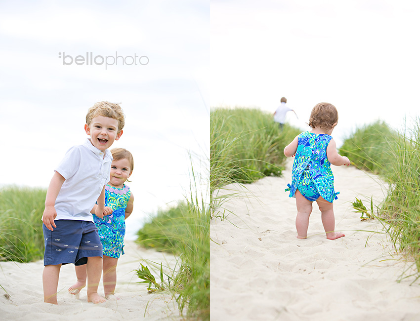 02 kids playing in beach grass