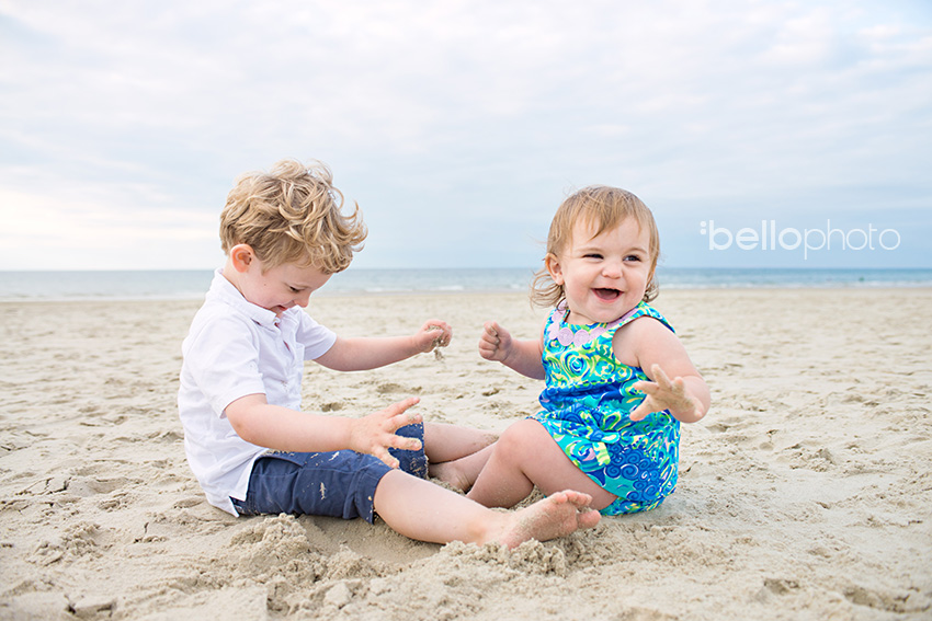 kids playing in the sand, cape cod photographers