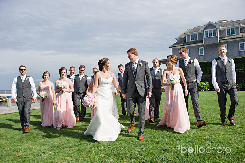 wychmere wedding, bridal party