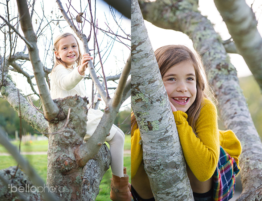 07 kids playing in trees