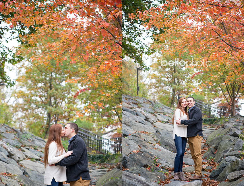 08 fall engagement photos