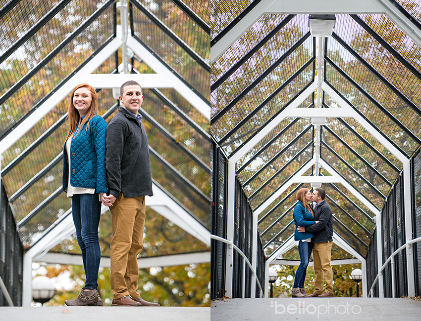 10 fall engagement session